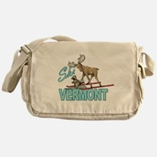 Ski Vermont Messenger Bag