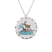 Ski Vermont Necklace