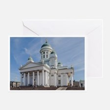 Helsinki Lutheran Cathedral, Finland Greeting Card