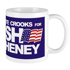 Corporate Crooks For Bush Mug