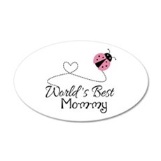 World's Best Mommy Wall Decal