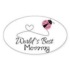 World's Best Mommy Decal