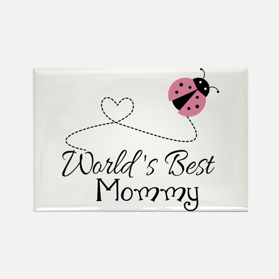 World's Best Mommy Rectangle Magnet