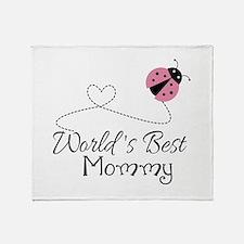 World's Best Mommy Throw Blanket