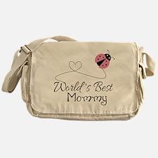 World's Best Mommy Messenger Bag