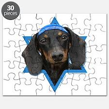 Hanukkah Star of David - Doxie Puzzle