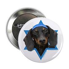 "Hanukkah Star of David - Doxie 2.25"" Button"