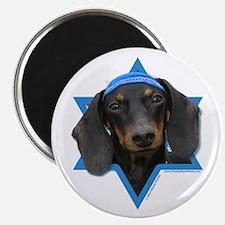 "Hanukkah Star of David - Doxie 2.25"" Magnet (10 pa"