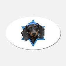 Hanukkah Star of David - Doxie Wall Decal