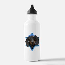 Hanukkah Star of David - Doxie Water Bottle