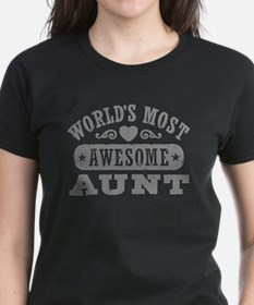 World's Most Awesome Aunt Tee