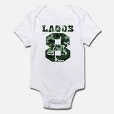 Lagos Camouflage Infant Bodysuit