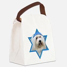 Hanukkah Star of David - Coton Canvas Lunch Bag