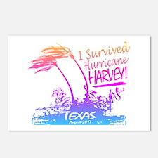 I Survived Hurricane Harvey Postcards (Package of