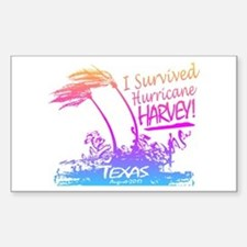 I Survived Hurricane Harvey Decal