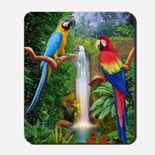 MACAW TROPICAL PARROTS Mousepad
