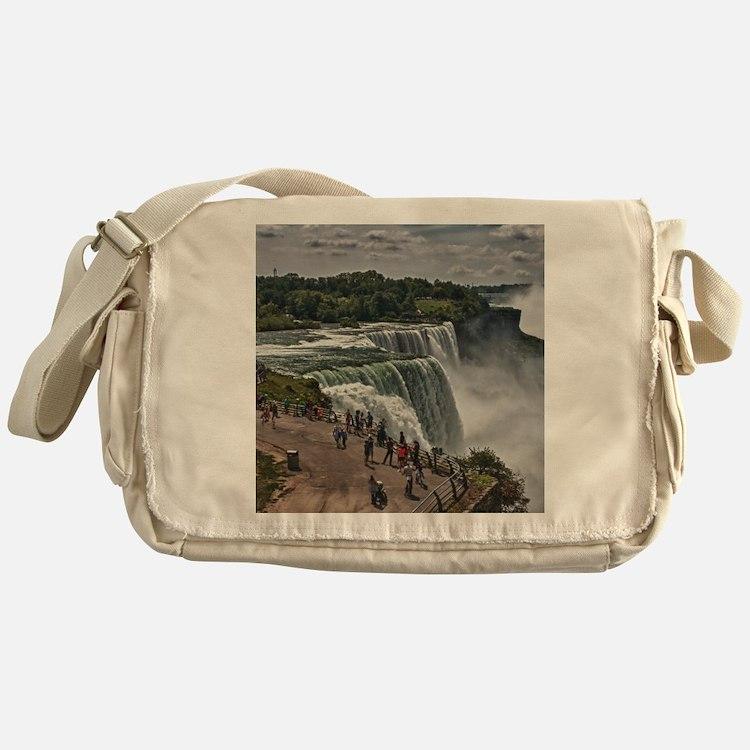 Niagara Falls 3 Messenger Bag