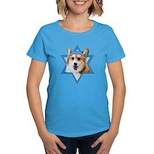 Hanukkah Star of David - Corgi Tee