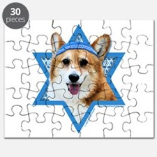 Hanukkah Star of David - Corgi Puzzle