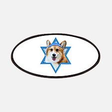 Hanukkah Star of David - Corgi Patches