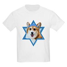 Hanukkah Star of David - Corgi T-Shirt