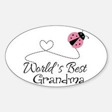World's Best Grandma Decal