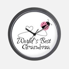 World's Best Grandma Wall Clock