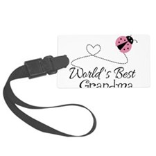 World's Best Grandma Luggage Tag