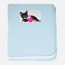 Play Time Kitten baby blanket