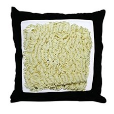 Instant Noodles! Throw Pillow