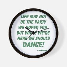 Celebration of Life Wall Clock