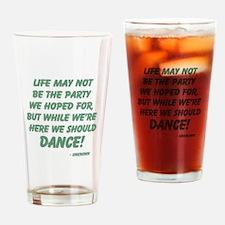 Celebration of Life Drinking Glass