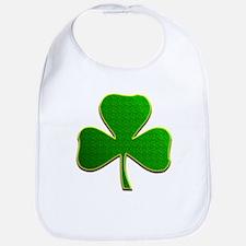 Lucky Irish Shamrock Bib