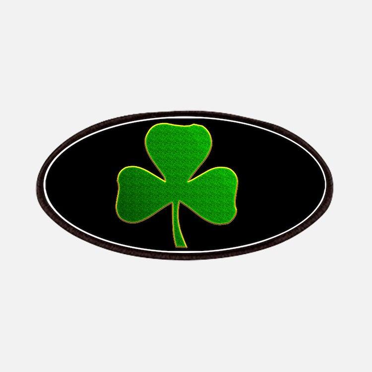 Lucky Irish Shamrock Patches