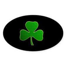 Lucky Irish Shamrock Decal