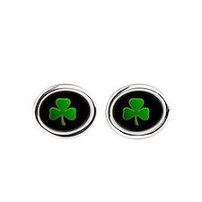 Lucky Irish Shamrock Cufflinks