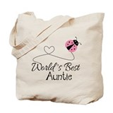 Best auntie ladybug Totes & Shopping Bags
