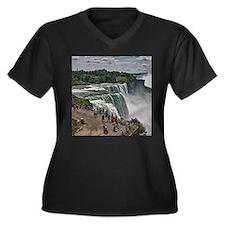 Niagara Falls 3 Plus Size T-Shirt