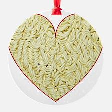 I Love Instant Noodles Ornament