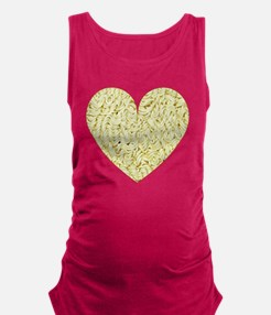 I Love Instant Noodles Maternity Tank Top