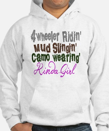 kinda girl Jumper Hoody