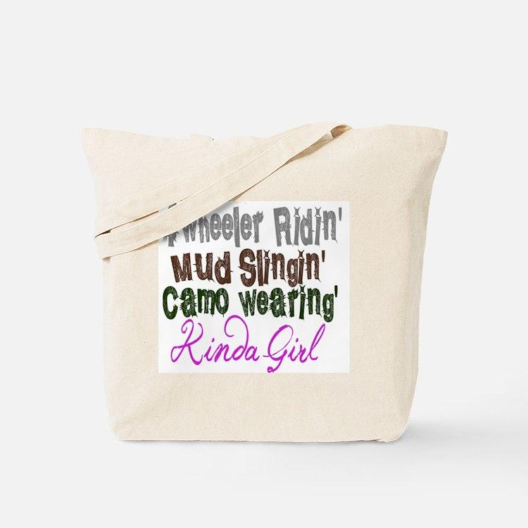 kinda girl Tote Bag