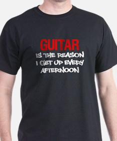 Guitar Get Up Afternoon T-Shirt