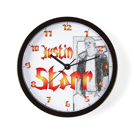 Justin Starr Wall Clock