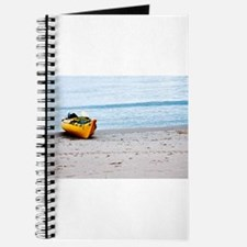 kayak on the beach Journal