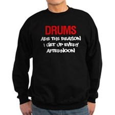 Drums Reason I Get Up Jumper Sweater