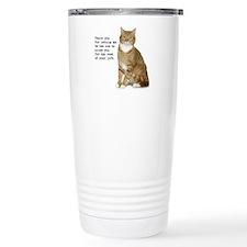 Annoying Cat Travel Mug