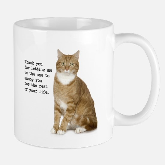 Annoying Cat Mugs