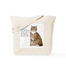 Annoying Cat Tote Bag