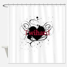 twihard4.png Shower Curtain